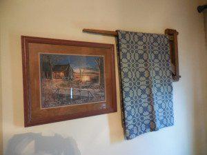 Primitive Blanket Crane: TimelessTreasureTrove.com